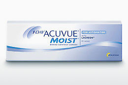 コンタクトレンズ Johnson & Johnson 1 DAY ACUVUE MOIST for ASTIGMATISM 1MA-30P-REV
