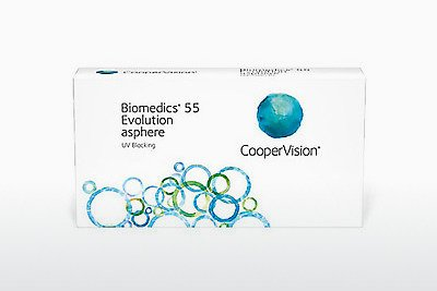 コンタクトレンズ Cooper Vision Biomedics 55 Evolution BMEU6