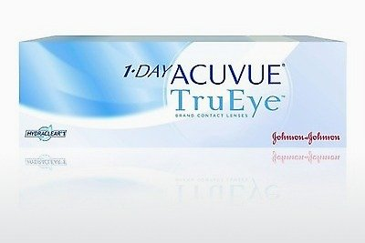 コンタクトレンズ Johnson & Johnson 1 DAY ACUVUE TruEye 1D4-90P-REV