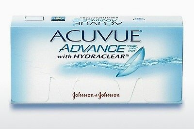 コンタクトレンズ Johnson & Johnson ACUVUE ADVANCE with HYDRACLEAR AVG-6P-REV
