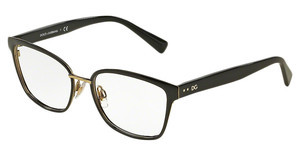 Dolce & Gabbana DG1282 1287 PALE GOLD/BLACK