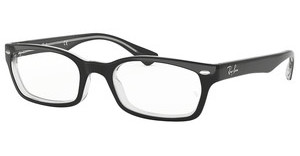 Ray-Ban RX5150 2034 TOP BLACK ON TRANSPARENT