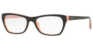 Ray-Ban RX5298 5024 TOP BLACK ON PINK