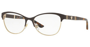 Versace VE1233Q 1344 BROWN/PALE GOLD