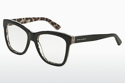デザイナーズ眼鏡 Dolce & Gabbana ENCHANTED BEAUTIES (DG3212 2857) - ブラック, Leopard