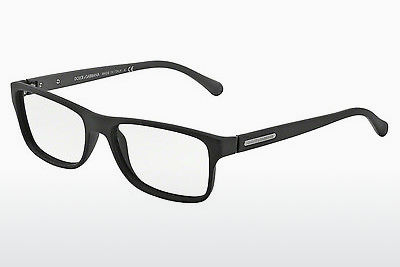 デザイナーズ眼鏡 Dolce & Gabbana OVER-MOLDED RUBBER (DG5009 2805) - ブラック