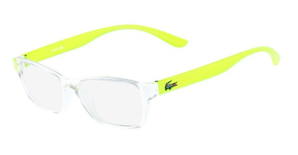 Lacoste L3803B 971 CRYSTAL WITH PHOSPHO TEMPLES