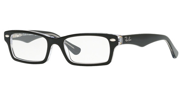 Ray-Ban Junior RY1530 3529 TOP BLACK ON TRANSPARENT