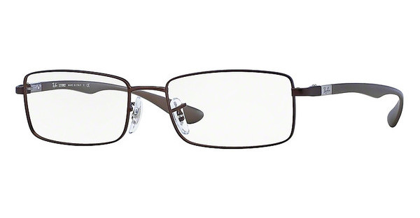 Ray-Ban RX6286 2758 DARK MATTE BROWN