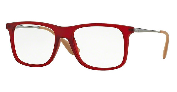 Ray-Ban RX7054 5525 RUBBER RED