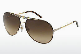 サングラス Dolce & Gabbana ICONIC EVOLUTION (DG2075 034/13) - ゴールド