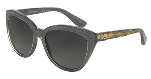 Dolce & Gabbana DG4250 2921T3 POLAR GREY GRADIENTCRYSTAL ON GREY
