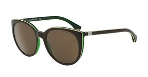 Emporio Armani EA4043 535173 BROWNBROWN/GREEN LINE/GREEN