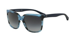 Emporio Armani EA4049 53878G GREY GRADIENTSTRIPED BLUE