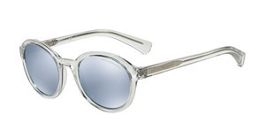 Emporio Armani EA4054 53716J BLUE MIRROR WHITETRANSPARENT