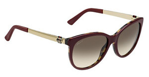 Gucci GG 3784/S LVS/CC BROWN SFBUHVNA GD (BROWN SF)