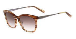 Karl Lagerfeld KL896S 134 STRIPED COGNAC