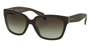 Prada PR 07PS UAM0A7 GREY GRADIENTOPAL BROWN ON BROWN