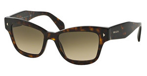 Prada PR 29RS 2AU3D0 LIGHT BROWN GRAD LIGHT GREYHAVANA