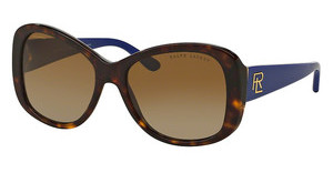 Ralph Lauren RL8144 5003T5 GRADIENT BROWN POLARSHINY DARK HAVANA
