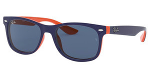 Ray-Ban Junior RJ9052S 178/80 BLUETOP BLUE ON ORANGE