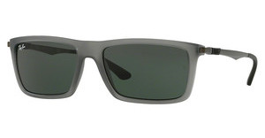 Ray-Ban RB4214 629671 GREENMATTE TRANSPARENT GREY