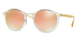 Ray-Ban RB4242 6288B9 GREEN GRAD BROWN MIRROR PINKTRASPARENT