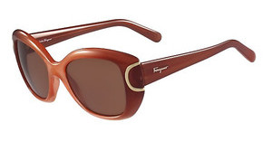 Salvatore Ferragamo SF819S 811 ORANGE GRADIENT