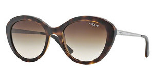 Vogue VO2870S W65613 BROWN GRADIENTDARK HAVANA DEMI SHINY