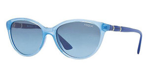 Vogue VO2894SB 21988F BLUE GRADIENTTRANSPARENT OPAL AZURE