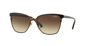 Vogue VO3962S 934S13 MATTE BRUSHED BROWN