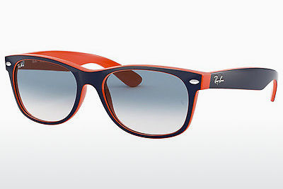 サングラス Ray-Ban NEW WAYFARER (RB2132 789/3F) - ブルー