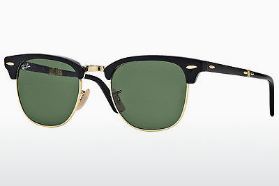 サングラス Ray-Ban CLUBMASTER FOLDING (RB2176 901) - ブラック