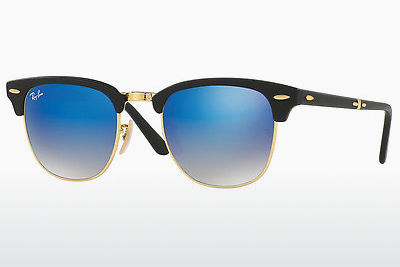 サングラス Ray-Ban CLUBMASTER FOLDING (RB2176 901S7Q) - ブラック