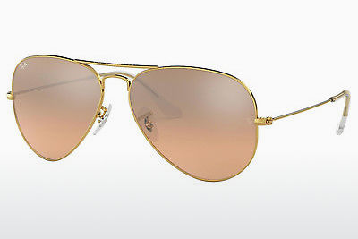 サングラス Ray-Ban AVIATOR LARGE METAL (RB3025 001/3E) - ゴールド