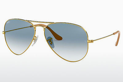 サングラス Ray-Ban AVIATOR LARGE METAL (RB3025 001/3F) - ゴールド