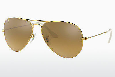 サングラス Ray-Ban AVIATOR LARGE METAL (RB3025 001/3K) - ゴールド