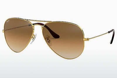 サングラス Ray-Ban AVIATOR LARGE METAL (RB3025 001/51) - ゴールド