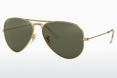 サングラス Ray-Ban AVIATOR LARGE METAL (RB3025 001/58) - ゴールド