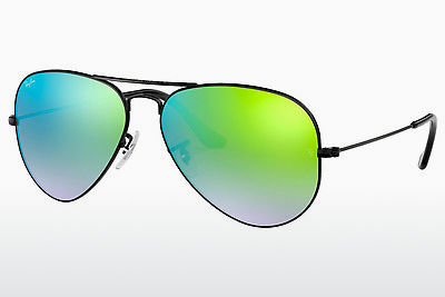 サングラス Ray-Ban AVIATOR LARGE METAL (RB3025 002/4J) - ブラック