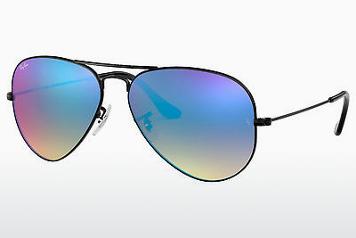 サングラス Ray-Ban AVIATOR LARGE METAL (RB3025 002/4O) - ブラック