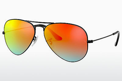 サングラス Ray-Ban AVIATOR LARGE METAL (RB3025 002/4W) - ブラック