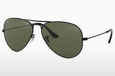 サングラス Ray-Ban AVIATOR LARGE METAL (RB3025 002/58) - ブラック