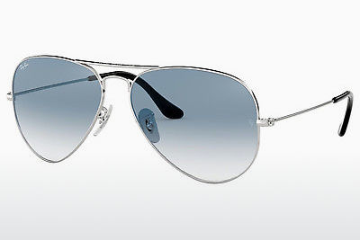 サングラス Ray-Ban AVIATOR LARGE METAL (RB3025 003/3F) - シルバー