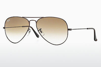 サングラス Ray-Ban AVIATOR LARGE METAL (RB3025 014/51) - ブラウン