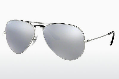 サングラス Ray-Ban AVIATOR LARGE METAL (RB3025 019/W3) - シルバー