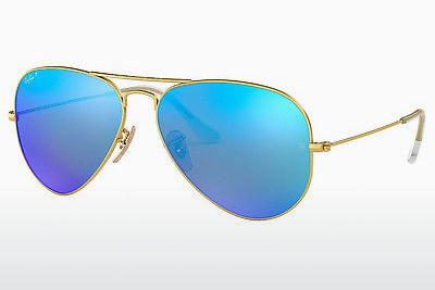 サングラス Ray-Ban AVIATOR LARGE METAL (RB3025 112/4L) - ゴールド
