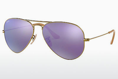 サングラス Ray-Ban AVIATOR LARGE METAL (RB3025 167/1M) - ブラウン