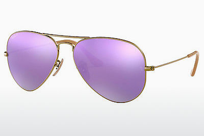 サングラス Ray-Ban AVIATOR LARGE METAL (RB3025 167/1R) - ブラウン
