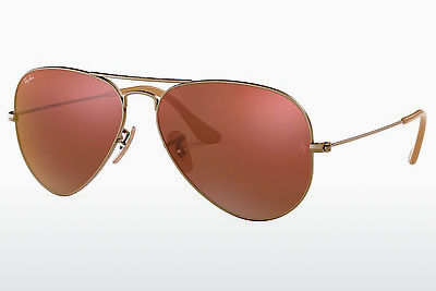 サングラス Ray-Ban AVIATOR LARGE METAL (RB3025 167/2K) - ブラウン